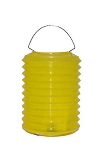 Bunte Laternen aus Kunststoff gelb