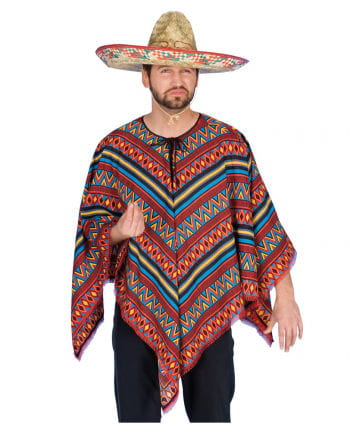 Colorful Mexican Poncho