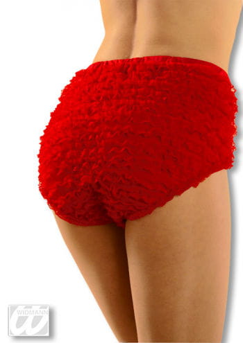 Burlesque Panties Red S