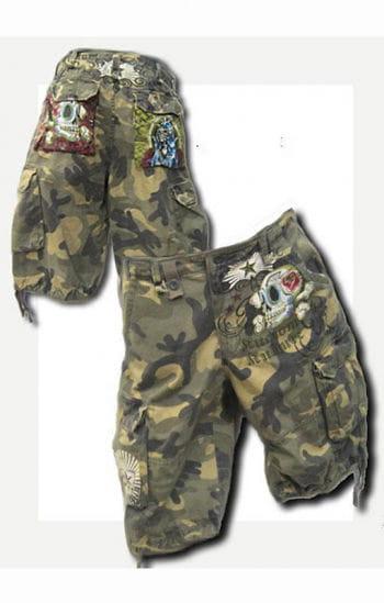 Camouflage Short Gr.32