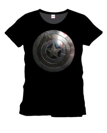 Captain America T-Shirt Silver Shield