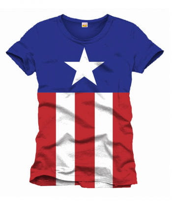 Captain America T-Shirt Stars and Stripes