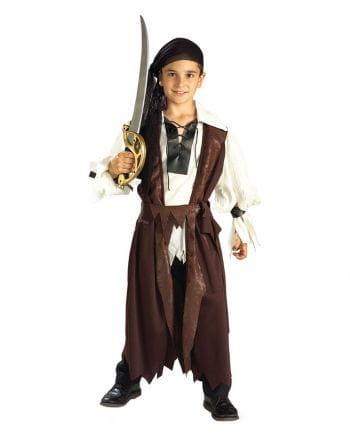 Caribbean Pirate Child Costume M