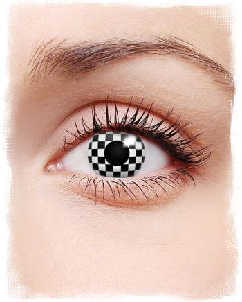 Kontaktlinse Checkered