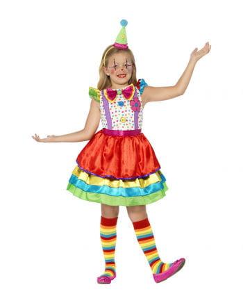 Clown Girl Mädchenkostüm