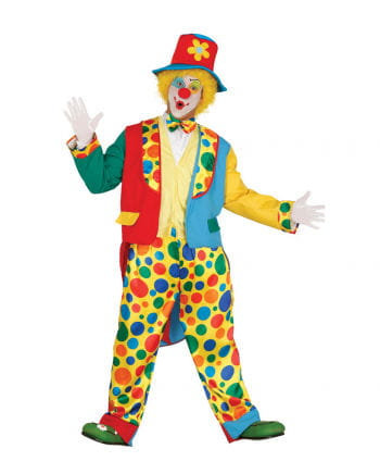 Clown costume with hat & tails