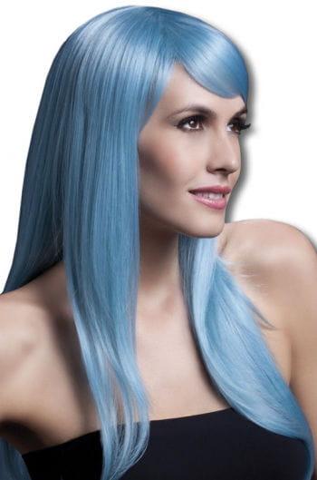 Damen Perücke Sienna hellblau