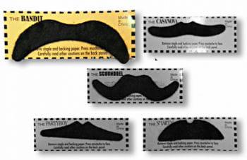 Mexican Moustache Black