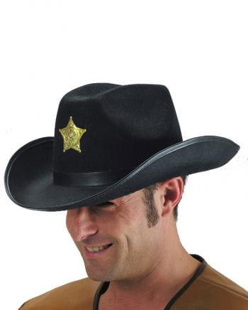 Cowboyhut schwarz