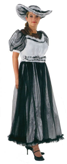 Südstaaten Lady Kostüm