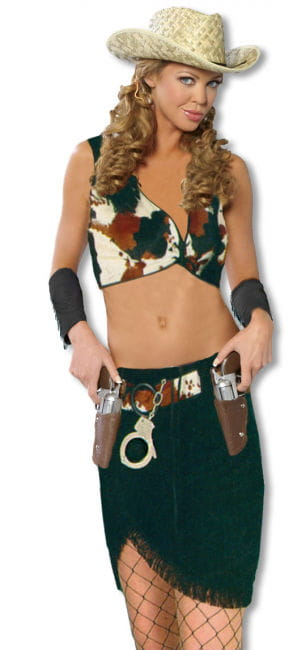Sexy Cowgirl Kostüm ML M/L 40-42