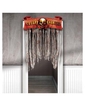 Creepy Carnival door curtain