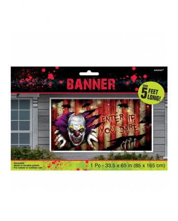 Creepy Clown Banner