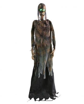 Creepy Halloween skeleton with Sound & Bewegungm