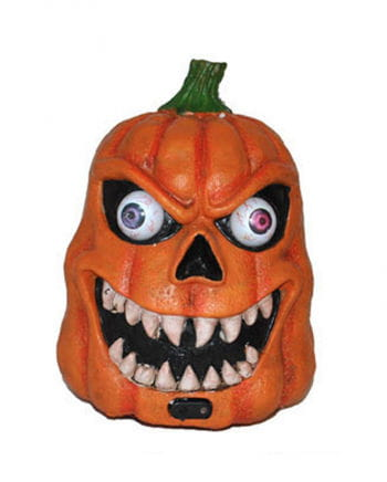 Demonic Halloween pumpkin with LED and sound