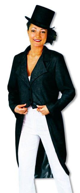 Damenfrack schwarz