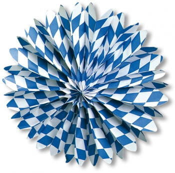 Decorative Paper Fan Bavaria 5 PCS