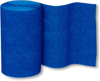 Crepe Paper Roll Blue