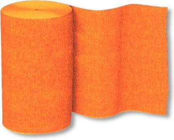 Crepe Paper Roll Orange