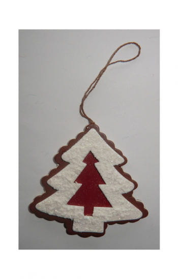 Decorative Cut-Out Cookie Christmas Tree