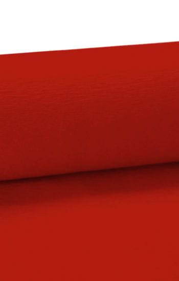 Niflamo decorative crepe red 50 m