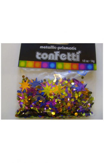 Disco Confetti Metallic