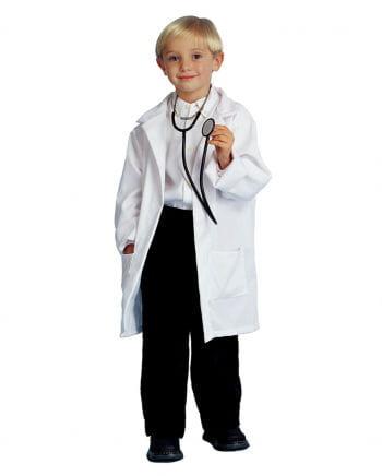 Kinder Professor Mantel weiß - L L