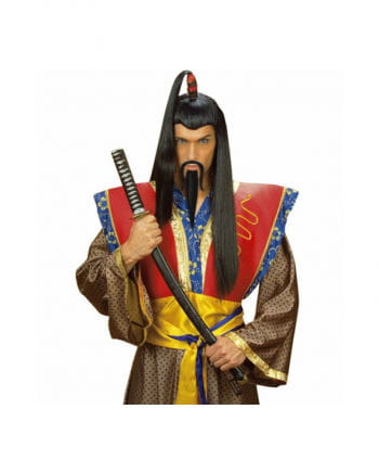 Genghis Khan beard black