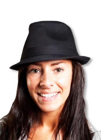 Edler Mafia Hut schwarz