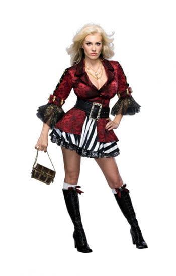 Elegant Pirate Lady Costume