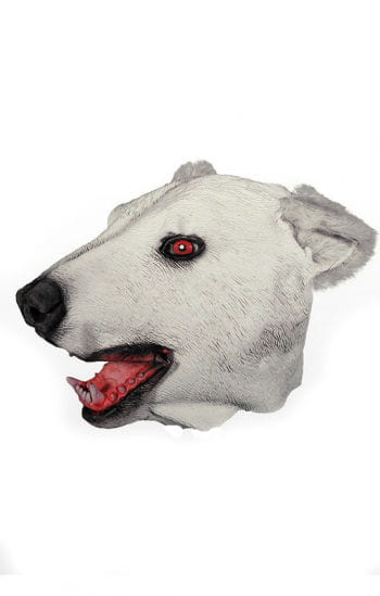 Eisbär Maske aus Latex