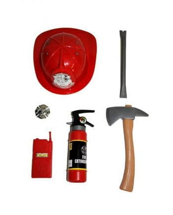 Set Fire Department for children 6 pieces
