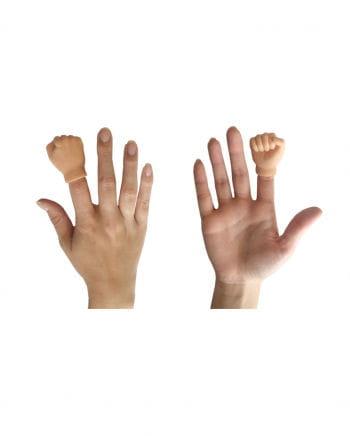 Fingerpuppe Hand Faust