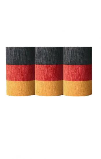 Deutschland Flaggen Krepp
