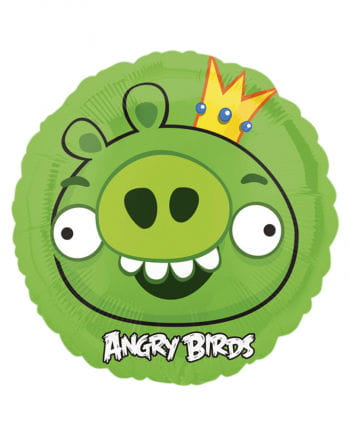 Foil balloon Angry Birds King Pig