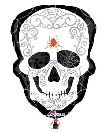 Folienballon Sugar Skull