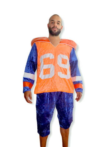 Footballspieler Kostüm