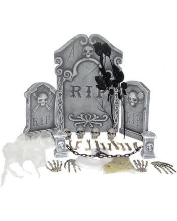 Friedhof Set Deluxe 31 tlg.