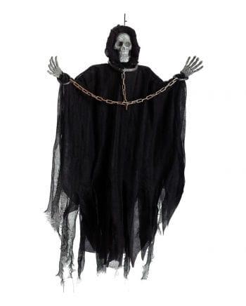 Gefesseltes skeleton hanging figure