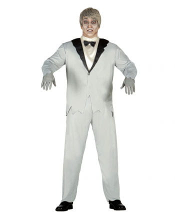 Elegantes Geister Bräutigam Kostüm
