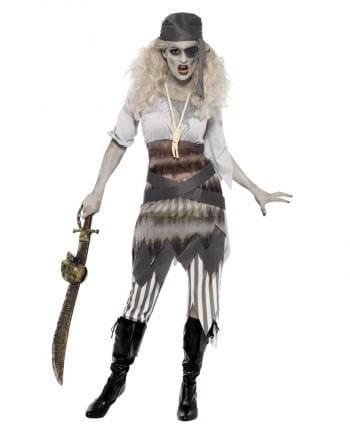 Geisterschiff Zombie Piratin Kostüm