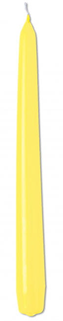 Tapered Candle Yellow