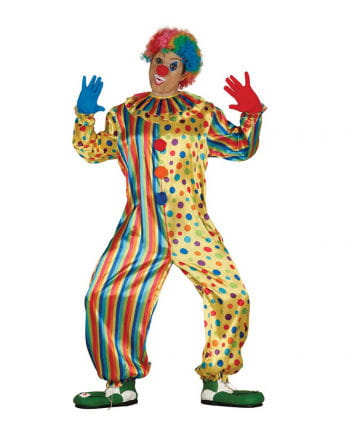 Yellow Clown Jumpsuit with points
