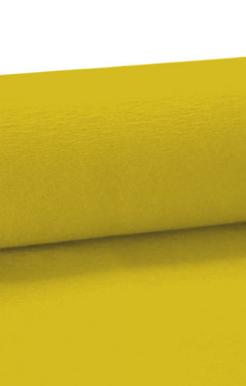Niflamo Deko-Krepp gelb 50 m