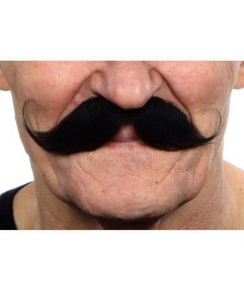 Gezwirbelter mustache black