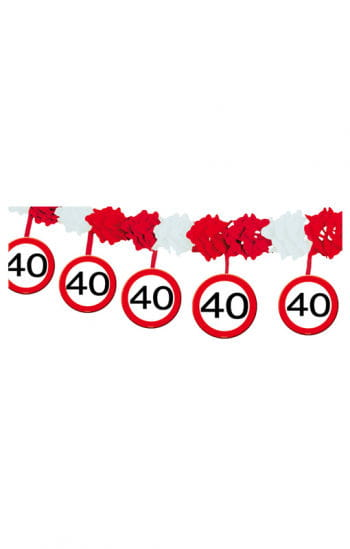 Garland Road Sign 40
