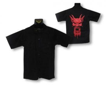 Kurzärmeliges Hemd Red Devil