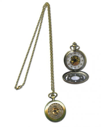 Taschenuhr Halskette
