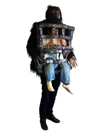 Gorilla costume with cage