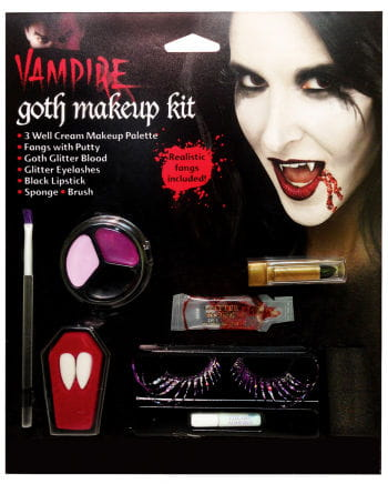 Dark Gothic Fairy Make Up Set